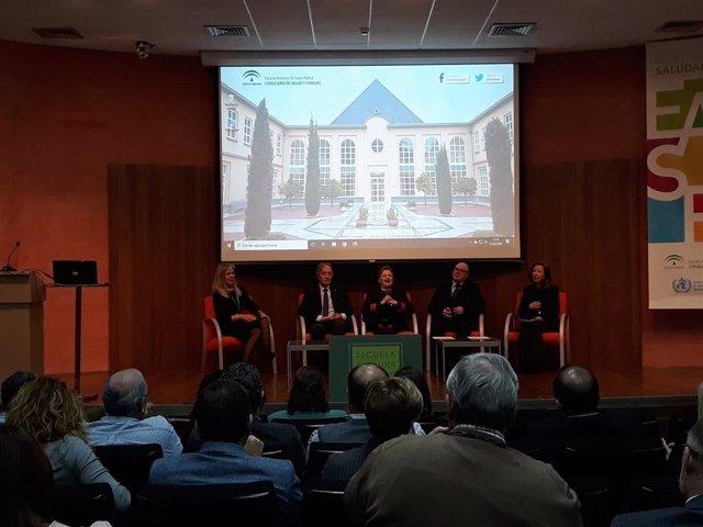 Imagen del acto celebrado en la Escuela Andaluza de Salud Pública