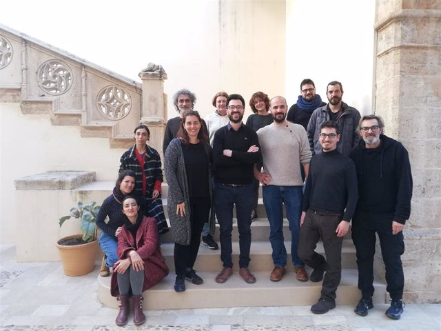 Integrantes del curso de fotografía organizado por el Institut d'Estudis Baleàrics.