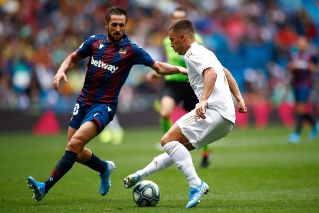 Hazard en el Real Madrid - Levante