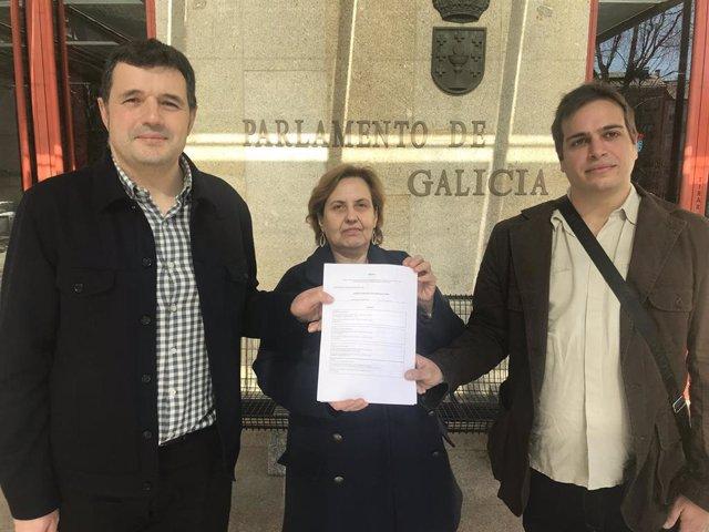Espazo Común cierra un acuerdo con Recortes Cero y Os Verdes para presentarse por la provincia de Ourense
