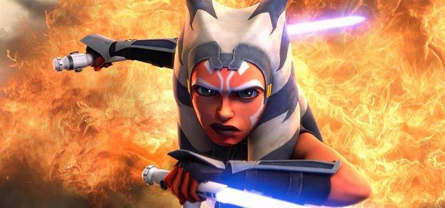 La jedi Ahsoka Tano en Star Wars: The Clone Wars