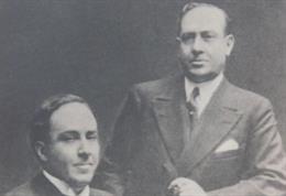 Manuel y Antonio Machado en una fotografía coetánea