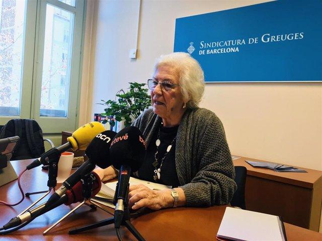 La síndica de greuges de Barcelona, Maria Assumpció Vilà (Arxiu)