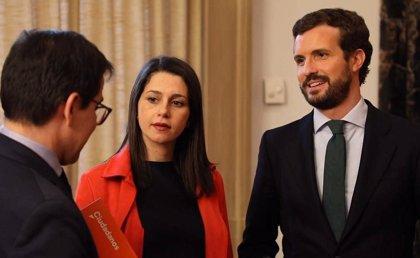 PP y Cs firman que el PP elija al candidato en Euskadi, sin mencionar a Alonso, y dos puestos de salida para Cs