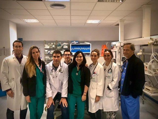 Equipo del Servicio de Urgencias del Hospital de Jerez
