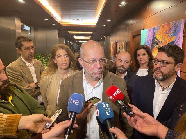Francisco Igea este viernes en Murcia