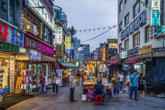 Mercado Namdaemun de Seúl (Corea)