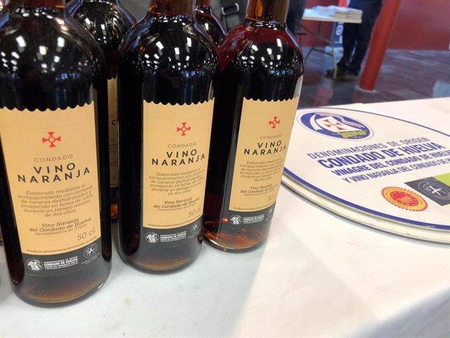Vino naranja del Condado de Huelva