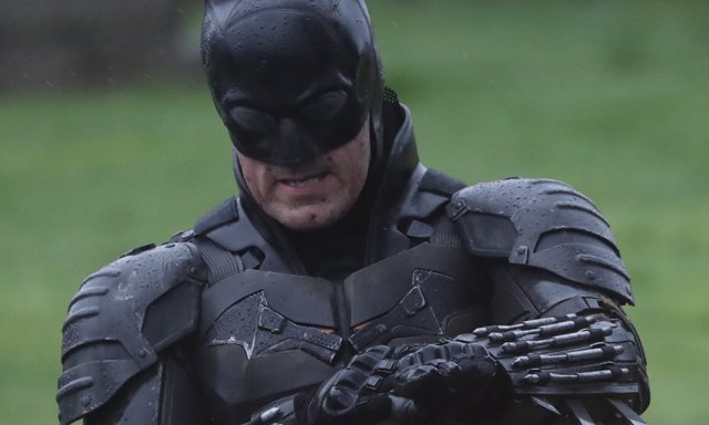 Nuevo vistazo al traje del Batman de Matt Reeves