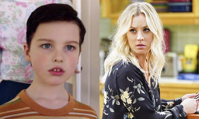 Kaley Cuoco y su cameo en El joven Sheldon