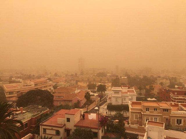 Episodio de calima en Gran Canaria