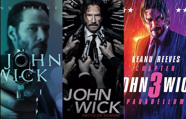 La trilogía John Wick