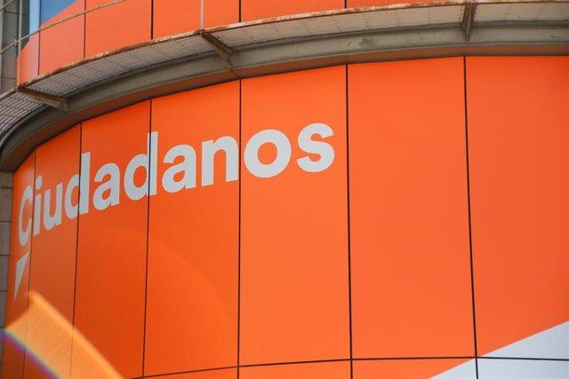 Sede de Ciudadanos en la calle Alcalá de Madrid