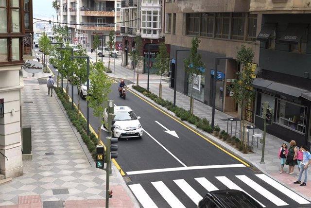 El asfaltado de la calle Isabel II comienza este lunes