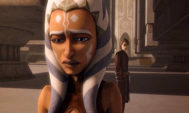 Ahsoka Tano se exhilió tras perder la fe en el consejo Jedi
