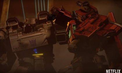 Tráiler de War for Cybertron, la trilogía anime de Transformers de Netflix