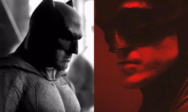El Batman de Ben Affleck frente al de Robert Pattinson