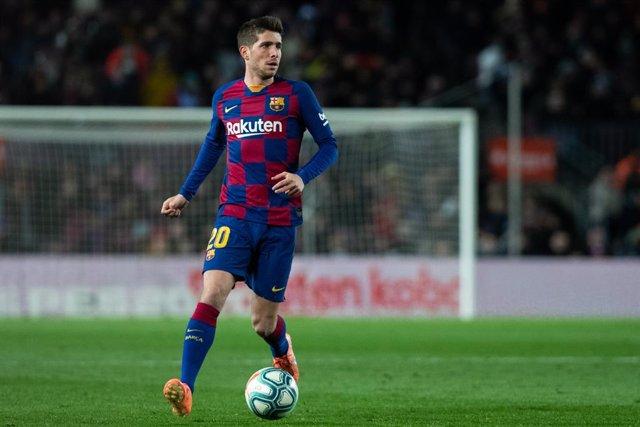 El jugador del FC Barcelona Sergi Roberto
