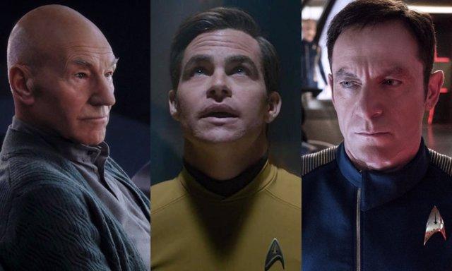 Picard, Kirk y Lorca, capitanes de Star Trek