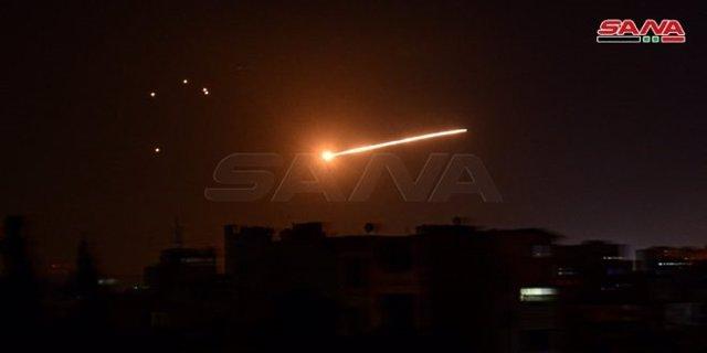 Antiaéreos en Damasco
