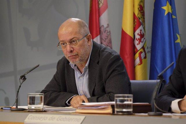 Igea durante la rueda de prensa posterior al Consejo de Gobierno de este jueves.