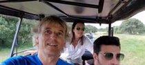 Paula Echevarría y Miguel Torres disfrutan de su viaje a Kenia