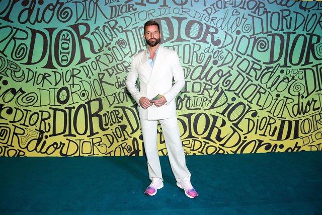 """Ricky Martin apoya las protestas en Chile desde el escenario de Viña del Mar: """"C"""