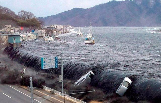 Tsunami de Tohoku en Japón