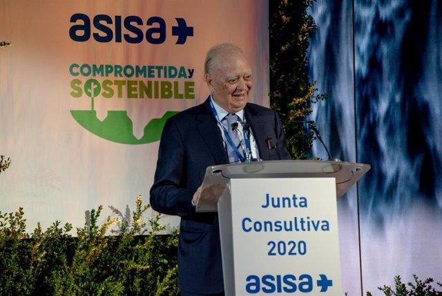 El presidente del Grupo ASISA, Dr. Francisco Ivorra, durante su intervención en la Junta Consultiva.