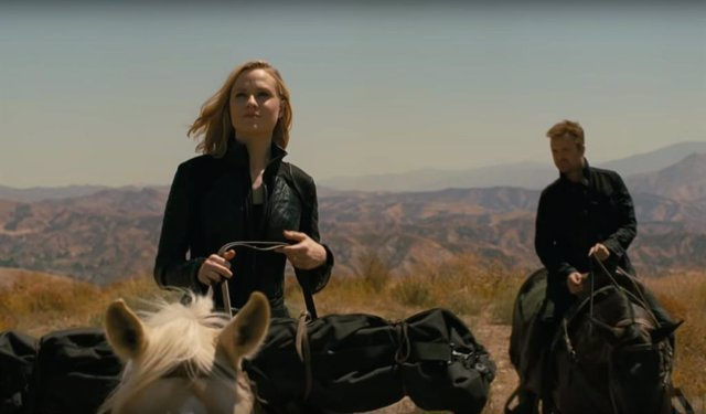 Aaron Paul y Evan Rachel Wood en la 3ª temporada de Westworld