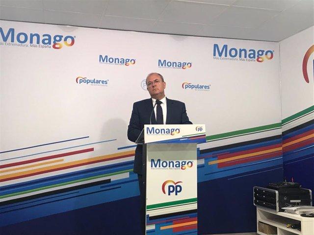 """Monago exige medidas """"inmediatas"""" para que """"no se engañe"""" a los agricultores con"""