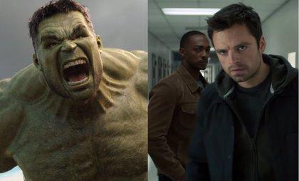 Revelada la sorprendente conexión entre Hulk y The Falcon and Winter Soldier