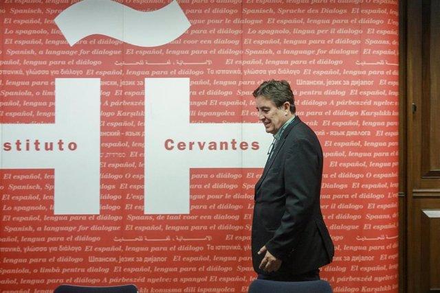 Director del Instituto Cervantes, Luis García Montero