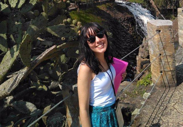Cristina Pernas, una de las beneficiarias de las ayudas de Fundación Universia y Banco Santander.