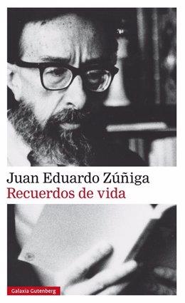 Portada de Recuerdos de Vida, de Juan Eduardo Zúñiga