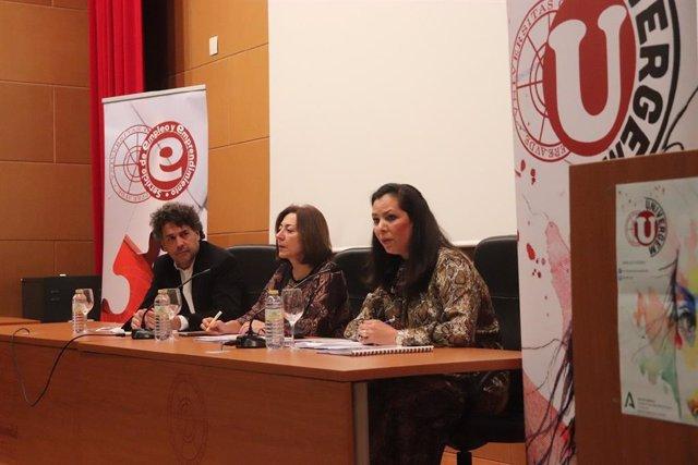 Presentan el programa Univergem en la Universidad de Huelva.