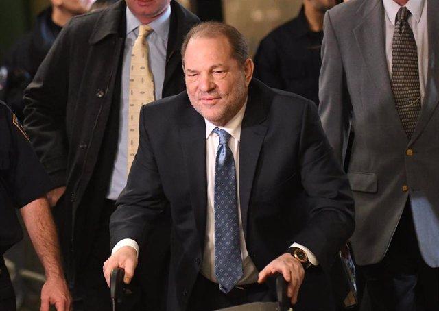 Harvey Weinstein en el juicio