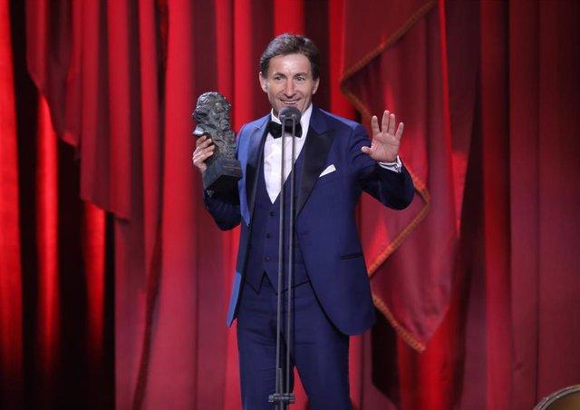 Imagen de archivo de Antonio de la Torre recogiendo el goya 2019 al mejor actor protagonista por 'El Reino'