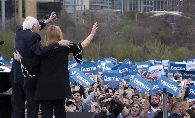 El precandidato demócrata a la Casa Blanca Bernie Sanders.