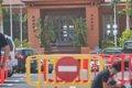 Policía Nacional custodia el hotel de Adeje (Tenerife) en el que se alojaba el infectado por coronavirus