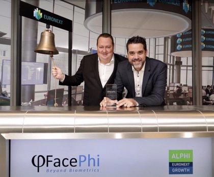 La tecnológica española Facephi empieza a cotizar en el índice Euronext Growth de París