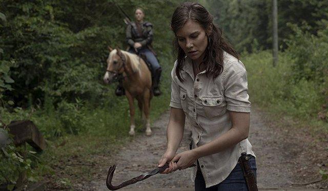 Lauren Cohan (Maggie) en The Walking Dead