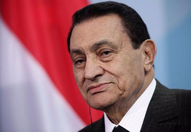 L'expresident d'Egipte Hosni Mubarak