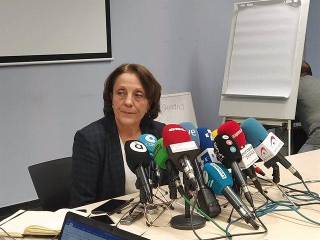La sotsdirectora general d'Epidemiologia, Hermelinda Vanaclocha.