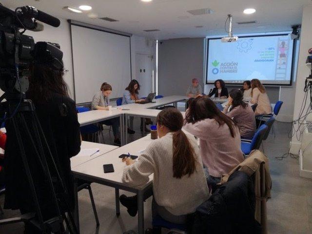Presentación del informe sobre brecha de género y emprendedoras.