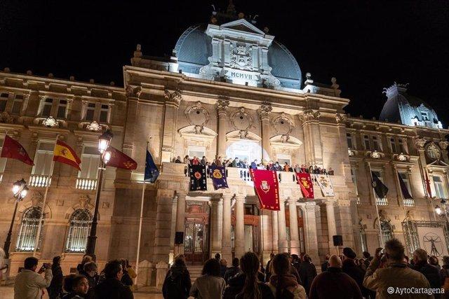 La cuenta atrás de las procesiones de Cartagena comienza el miércoles con la 'Llamada'