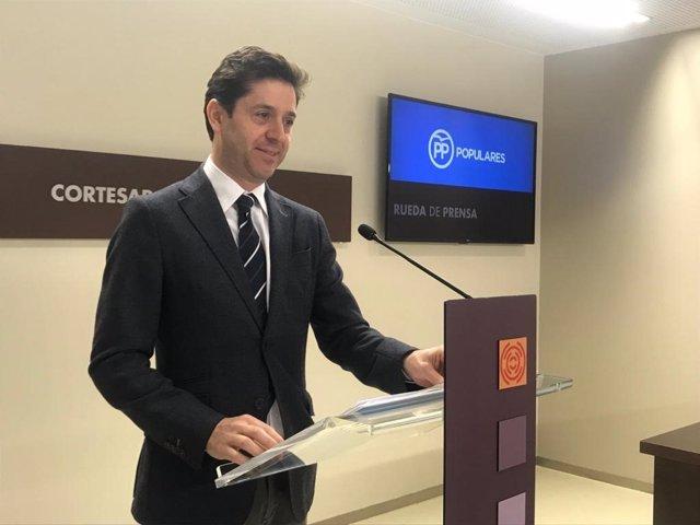 El diputado del PP, Sebastián Contín