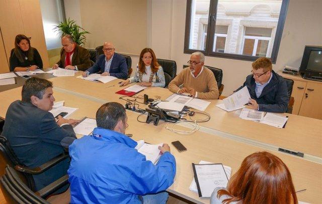 Reunión del Consejo de Administración de la Sociedad Casco Antiguo de Cartagena