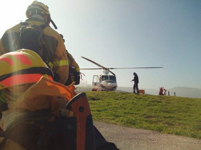 Desactivado el nivel 2 del operativo de lucha contra incendios forestales