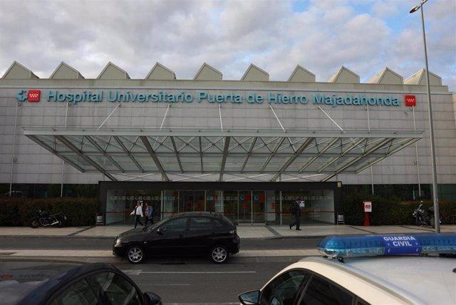 Imagen de recurso del Hospital Universitario Puerta de Hierro de Madrid.